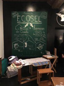 photo intérieur du magasin éphémère Ecosel